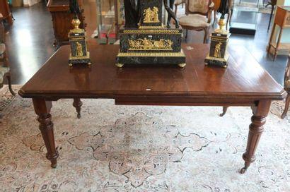 Table rectangulaire d'époque Louis-Philippe,...