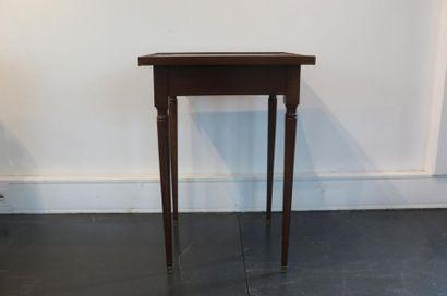 Table de salon de style Louis XVI, début...
