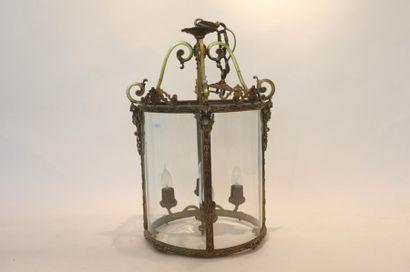 Lanterne de vestibule de style Louis XVI...