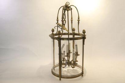 Importante lanterne de vestibule de style...