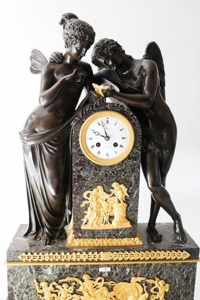 THOMIRE Pierre-Philippe (1751-1843) [reçu maître en 1772] Exceptionnelle garniture...