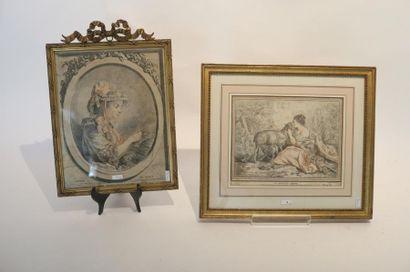 HUET Jean-Baptiste (1745-1811) [d'après] & DEMARTEAU Gilles (1722-1776)