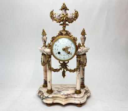 Pendule-portique de style Louis XVI, début...
