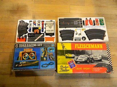 Jeux de pistes d'autos (2) : FLEISCHMANN...