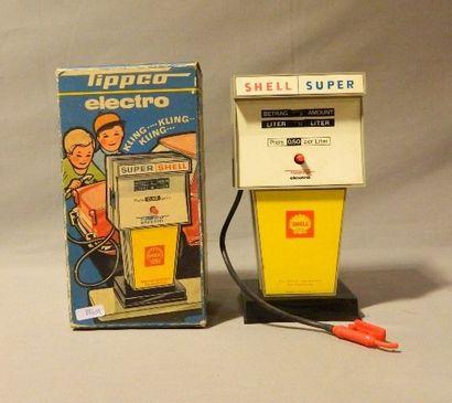 TIPP CO, pompe super Shell, tôle et plastique,...