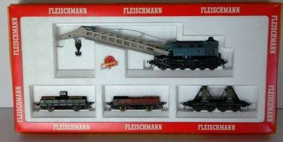 FLEISCHMANN 5597, coffret wagon-grue (EB...