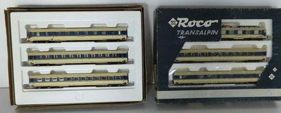 ROCO, Exclusive Transalpin, coffrets 43053...
