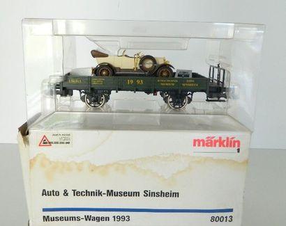 MÄRKLIN I (moderne) 80013, Museum Wagen 1993...