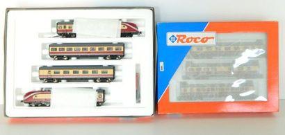 ROCO (système 3 rails Märklin), TEE à 7 éléments,...