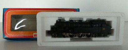 MÄRKLIN 3107, loco-tender 232 noire, TC 214...