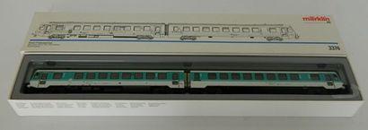 MÄRKLIN 3376, diesel Triebwagen (1989 1993),...