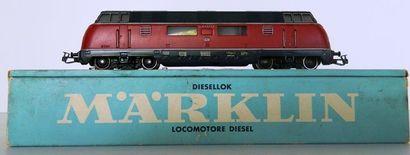 MÄRKLIN 3021, locomotive diesel BB V200056...