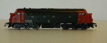 MÄRKLIN 3067, locomotive diesel des DSB en...