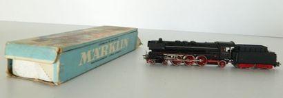 MÄRKLIN 3048, locomotive à vapeur 231 noire,...