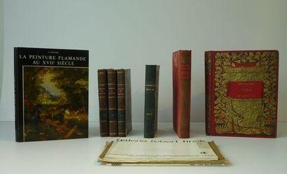 Lot de livres anciens divers :