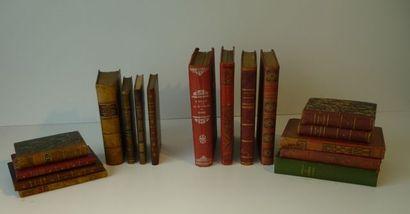 Lot de livres anciens divers : Cervantes,...