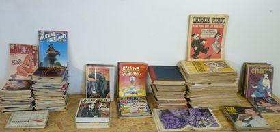 Important lot de revues, 473 numéros : Ah...