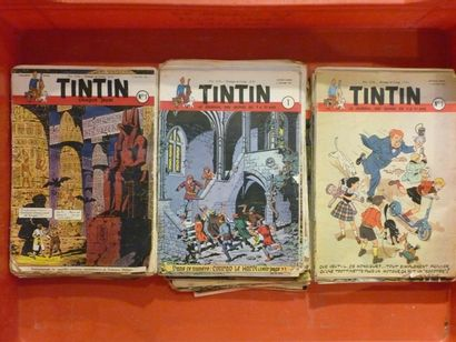 Le journal de Tintin, ensemble de numéros...