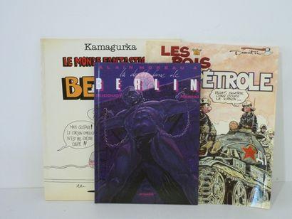 Ensemble de 50 bandes dessinées hétéroclites...