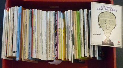 Important varia de bandes dessinées [états...