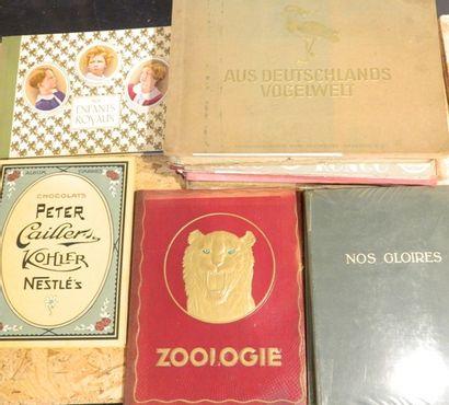 Ensemble de 12 albums à vignettes : Zoologie,...