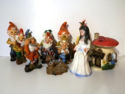 GÖTZ (made in germany), ensemble de 13 figurines...