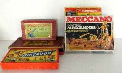 MECCANO, coffret en bois avec manuel 5A -...