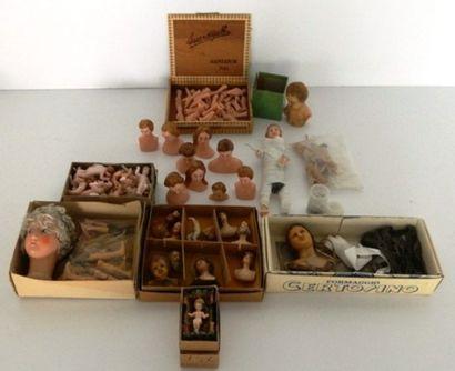 Ensemble de pièces de poupée en cire : 12...