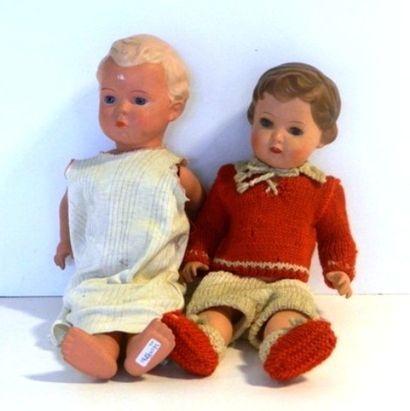 Poupées TORTUE (2) : une poupée marquée