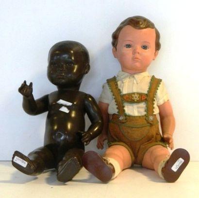 Bébés TORTUE (2) : l'un noir marqué sur la...