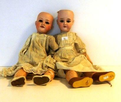 Deux poupées allemandes, Armand Marseille,...