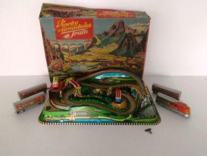 TECHNOFIX, rocky mountains train (EB) + Santa...