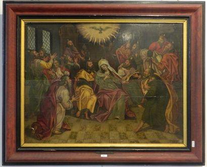 ÉCOLE FLAMANDE - FRANCK François (1544-1616) [attribué à]