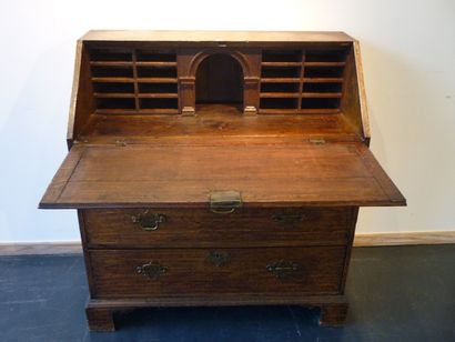 Commode-scriban de style Anglais ouvrant...