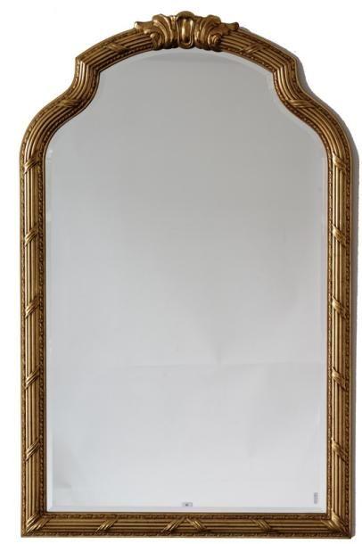 Miroir de style ancien, fin XXe, matériau...