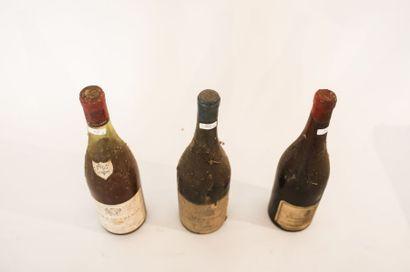 BOURGOGNE (VOSNE-ROMANÉE), Rouge, Liger-Belair & Fils 1928, une bouteille [dépôt,...