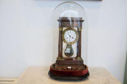 Pendule-portique d'époque fin Charles X sous...
