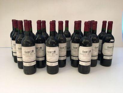 BORDEAUX, rouge, Château Bel-Air 2005, vingt-trois...