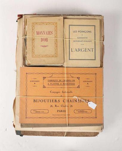 [DOCUMENTATION]. Livres, plaquettes, et catalogues...