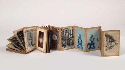 Album de 57 cartes postales concernant l'horlogerie...