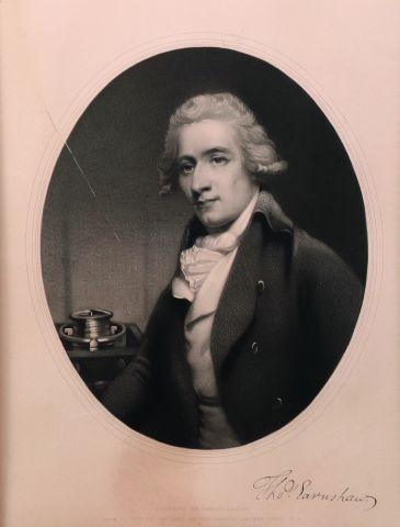 Thomas Earnshaw 1749-1829 Portrait à la manière...