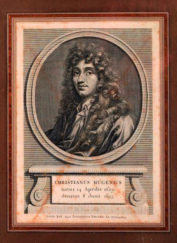 Christiaan Huygens (1629-1695) Portrait édité...