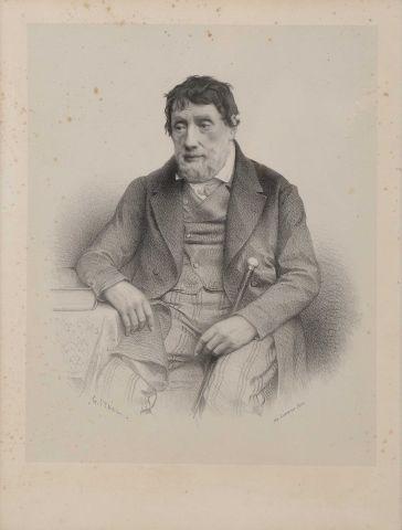 Louis Moinet (1768-1853) Portrait par G....