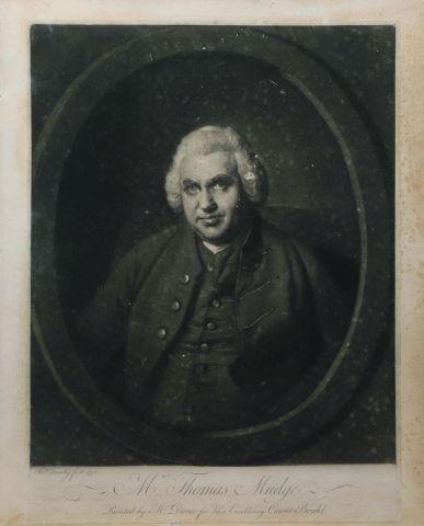 Thomas Mudge (1715-1794) Portrait à la manière...