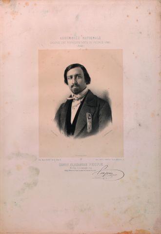 Henry Alexandre Peupin (1809-), 'Horloger,...