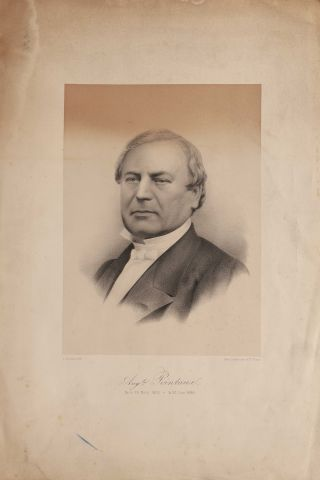 Auguste Pointaux (1809-1884) Lithographe...
