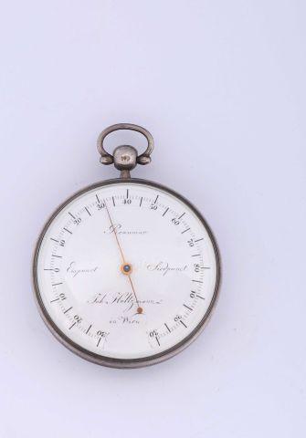 Une boussole et un thermomètre Réaumur combinés...