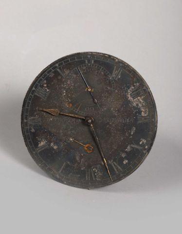 Un mouvement de chronomètre de marine incomplet...