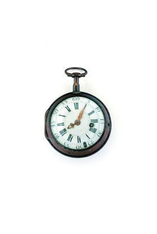 Deux montres à verge en argent sans signature,...