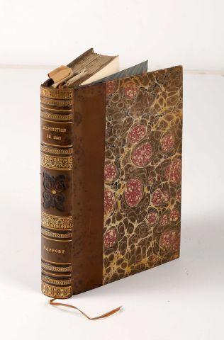 1823 - HERICART DE THURY, L. Rapport sur...